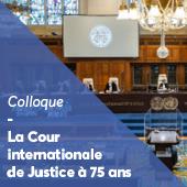 Colloque Cour internationale de Justice